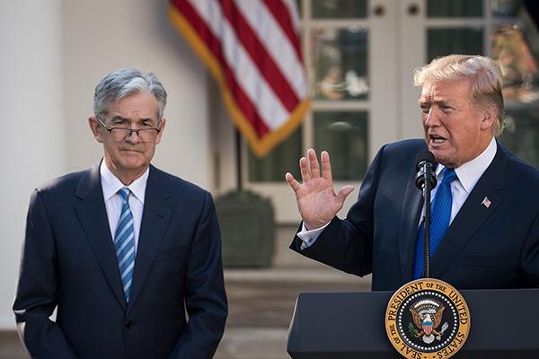 特朗普怒怼美联储主席:每次想做点好事 他就加息