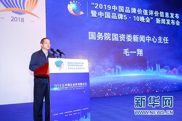 国务院国资委消息中心主任毛一翔说话