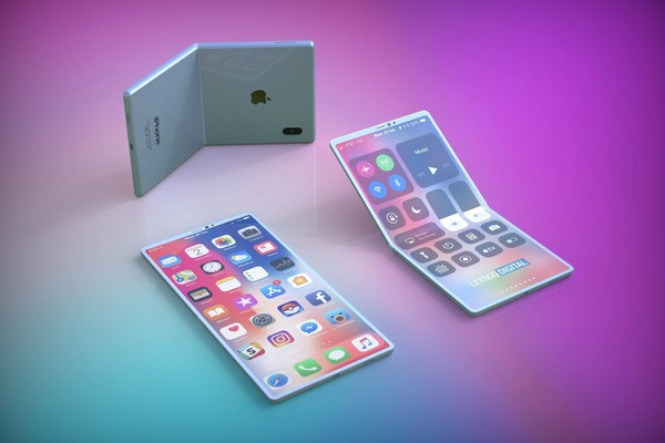 折叠屏iPhone(图源网络)
