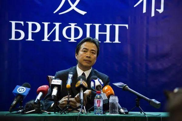 ▲中国驻乌克兰大使杜伟(中国驻乌克兰大使馆网站)