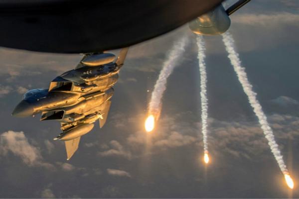 美军F15战机(图:今日俄罗斯资料图)