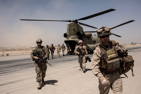 驻阿富汗美军(图源:NBC)