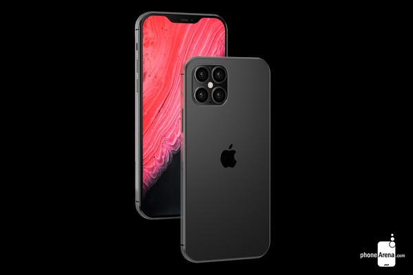 iPhone 12渲染图曝光 刘海屏将更小+支持5G