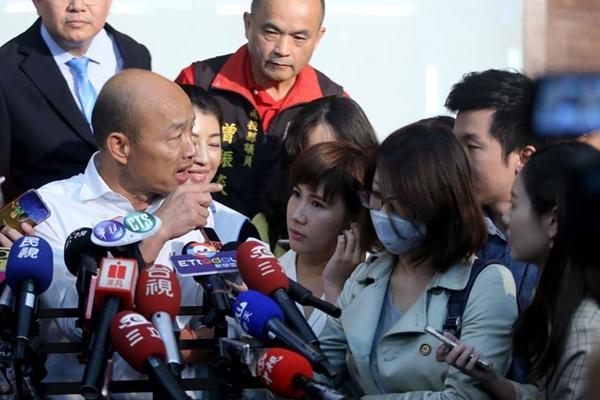 韓國瑜被曝曾買豪宅成話題 臺灣網民看不下去了