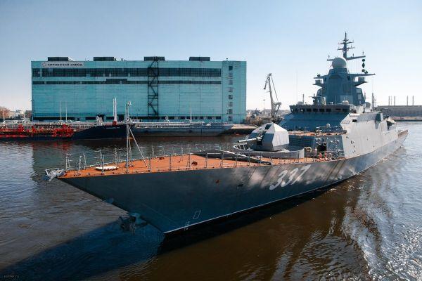 """俄新型护卫舰将装备""""锆石""""高超音速导弹"""