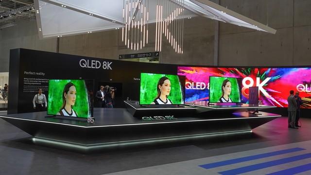 QLED 8K有4个尺寸规格,三星对8K电视组织深入