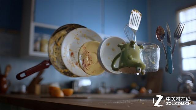 洗碗机的工作原理让它非常省水