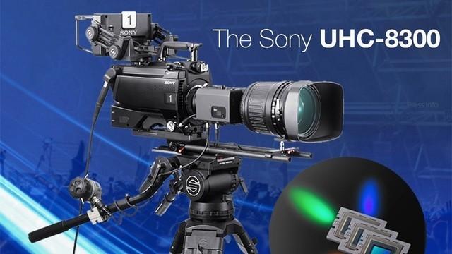 如今8K广播摄像机已相当常见(图为2017年索尼推出的UHC-8300 8K广播级摄像机)