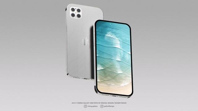 """iPhone 12 Pro新渲染圖曝光,采用""""無劉?!背妒油DR屏"""
