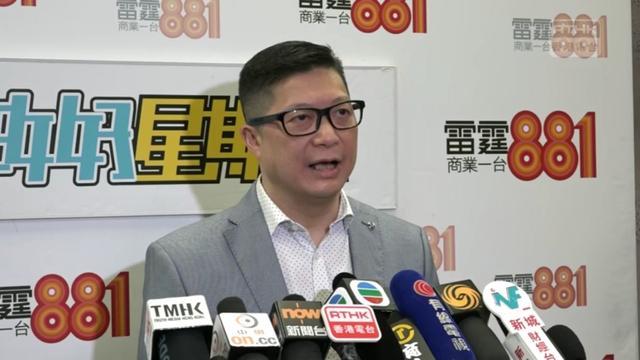 新任警务处处长邓炳强