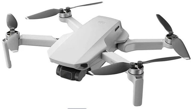 大疆新款Mavic Mini无人机,整体重量仅有249克