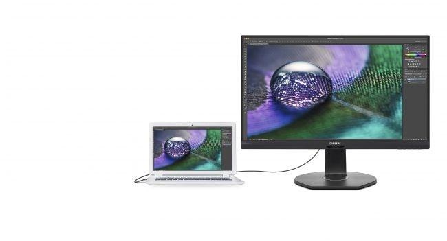 飞利浦发布新款4K显示器,包含RJ-45以太网接...