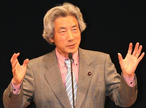 小泉纯一郎批安倍_资料图:日本前首相小泉纯一郎.