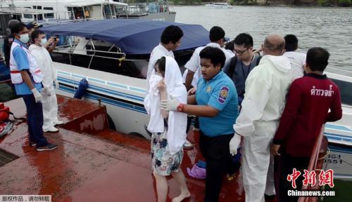 两名中国游客泰国乘快艇身亡 旅游局高度关注