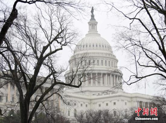资料图:美国国会大厦。 中新社记者 张蔚然 摄