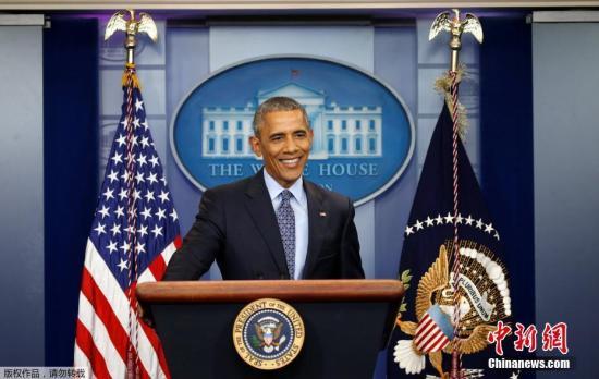 原料图:美国前总统奥巴马。