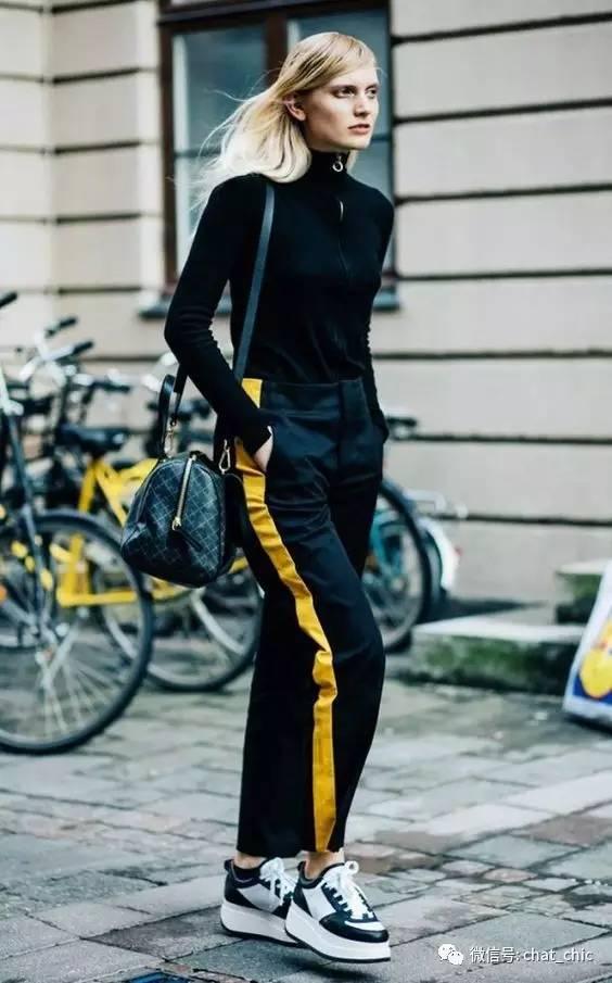 红鞋白裤子_潮痴:穿对侧边条纹裤,拉出逆天筷子腿|侧边|条纹裤|运动服 ...