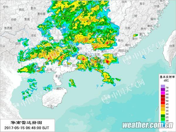 强降雨来袭 广东珠三角粤东等地将有暴雨到大暴雨