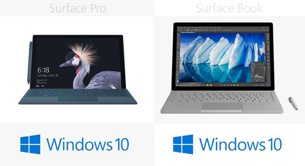 Surface Pro(2017)和Surface Book同门规格参数对比的照片 - 21