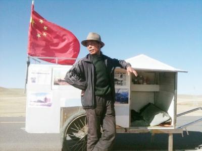 cntv5 直播_他拖辆小推车34年徒步30万公里徒步 扬州人称天下第一疯 - 球王 ...