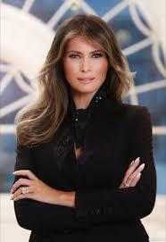 现在的美国第一夫人梅拉尼娅