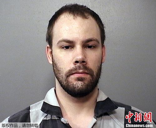 原料图片:涉嫌绑架中国访问学者章莹颖的美国嫌犯克里斯滕森。
