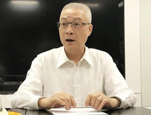 """吴敦义。图片来源:台湾""""中央社""""。"""