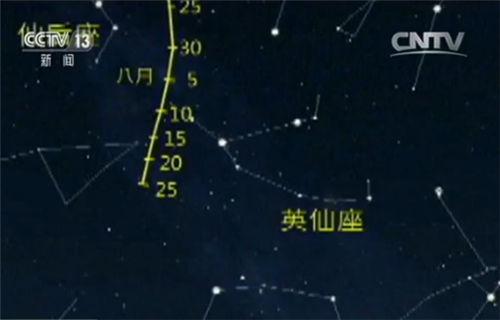 """英仙座流星雨 12日晚将""""绽放""""夜空"""