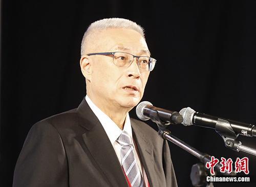 原料图片:中国国民党主席吴敦义。 中新社记者 吴晟炜 摄