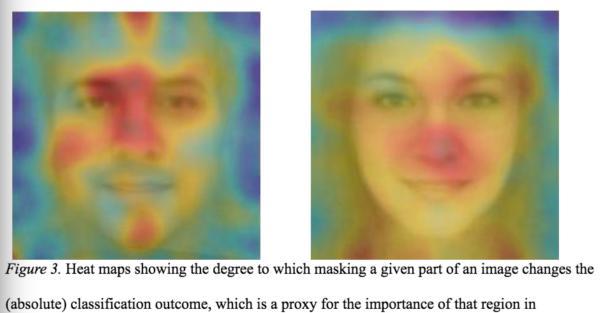 颜色越红的区域,在算法中越重要