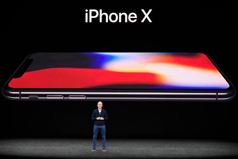 美国当地时间2017年9月12日,苹果在Apple Park总部乔布斯会场举行新品发布会。资料图
