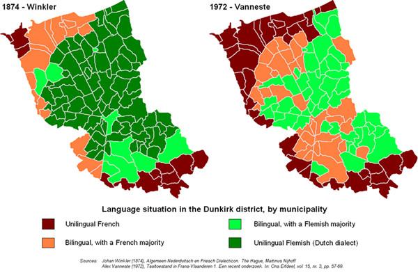最终佛兰德斯的大部分地区成为了今天比利时的一部分,也就是经常有
