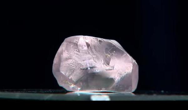 俄羅斯超級巨大粉紅色鉆石,價值至少過億