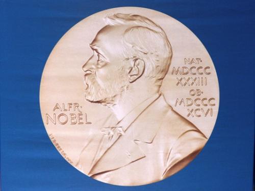 资料图:诺贝尔奖章