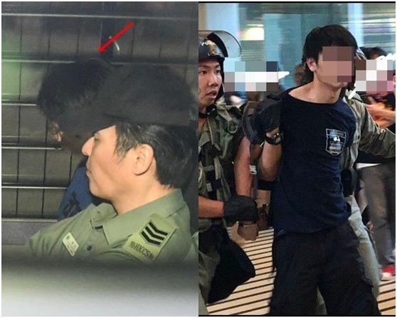 割香港警察脖子的男子又想保釋 法官再次拒絕
