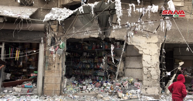 △图片来自叙利亚国家通讯社