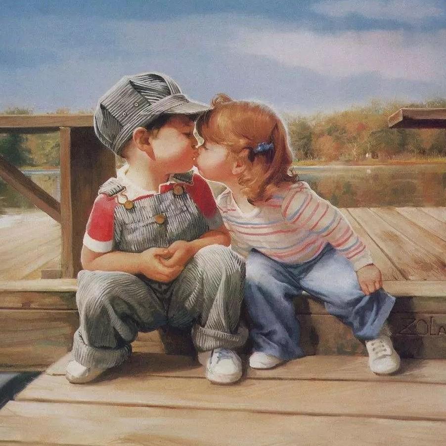 小女孩和小男孩_幼儿园小男孩亲小女孩,两位妈妈吵起来了