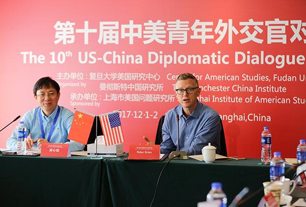 """""""中美青年酬酢官对话""""每年在美国和中国轮流举办。"""
