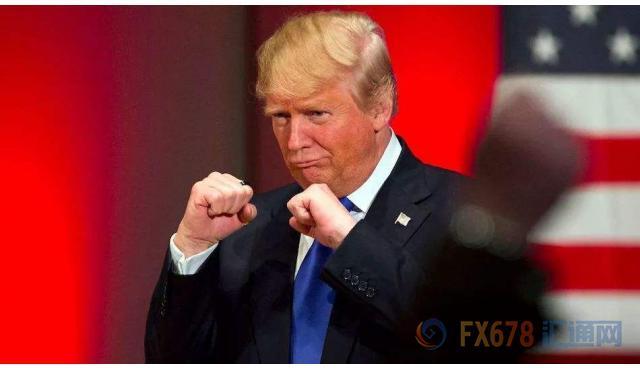 """特朗普""""嘴炮""""重燃危机 FED副主席助推美元逾两周高位"""