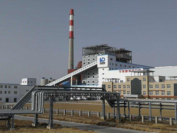 宝塔石化宁东基地动力站。拍摄:侯瑞宁