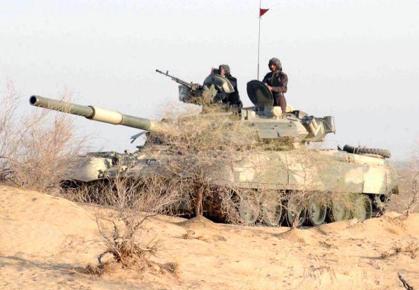 原料图片:巴基斯坦陆军T-80UD坦克。(图片来源于网络)