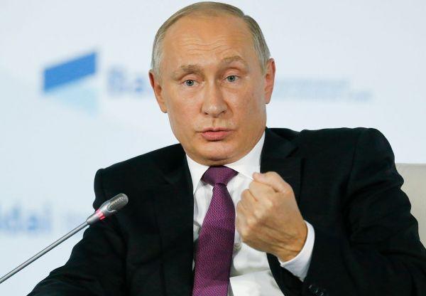 原料图片:俄罗斯总统普京。(图片来源于网络)