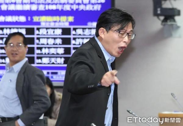 """黄国昌(图片来源:台湾""""东森新闻网"""")"""