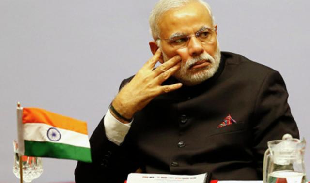 资料图:印度总理莫迪(图源:新华网)