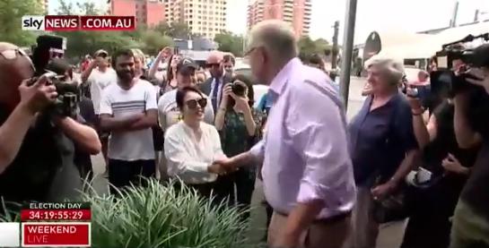 澳总理用中文向选民打招呼 选民:我是韩国人!
