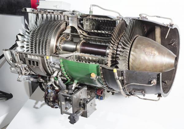 J-85发动机模型