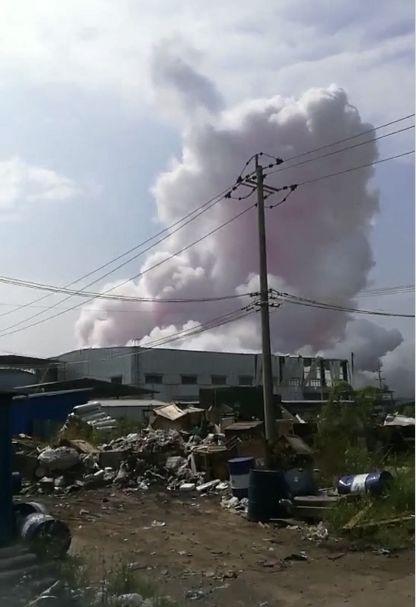 令人痛心!玉林化工厂发生爆炸事故