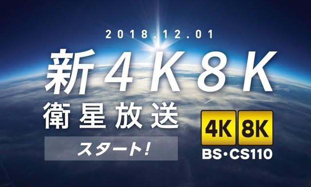 2018年12月1日,HNK电视台开始在日本推送8K电视信号
