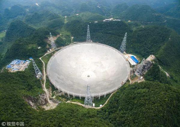 """▲中国""""天眼""""FAST射电望远镜(视觉中国)"""