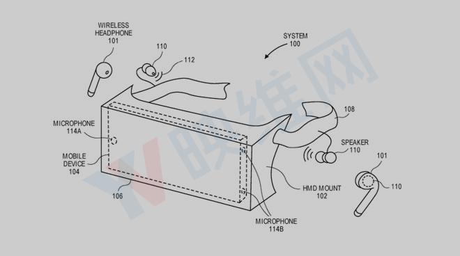 苹果新专利提出将iPhone音频传导给AR头显